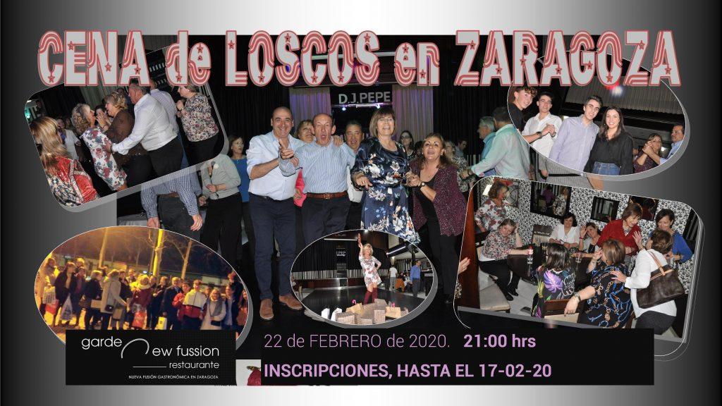 Cena Loscos en Zaragoza 2020